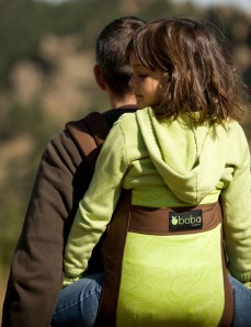 100% Organic Texas Cotton baby carrier
