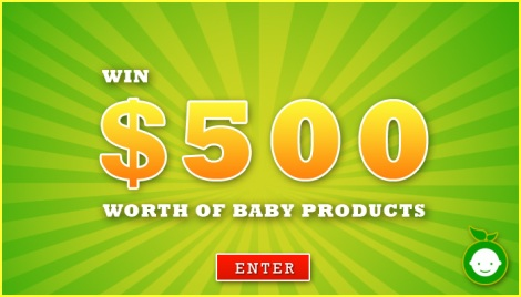 Win $500 worth of baby products