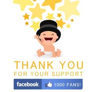 BOJ Facebook fans 1000