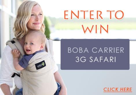 Win a Boba Carrier 3G Safari