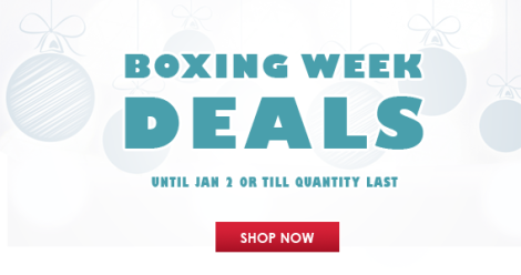 Boxing Week Deals