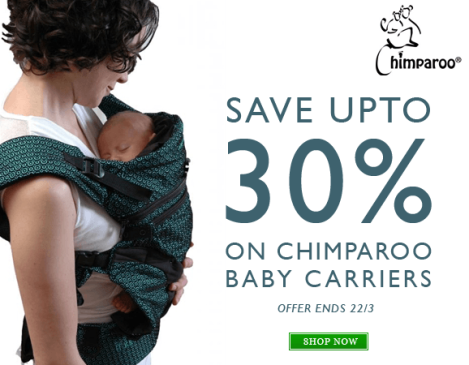 chimparoo baby carrier