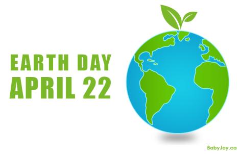 Earth Day Baby Joy